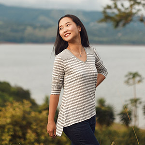 Itch to Stitch Arenal Top Sewing Pattern