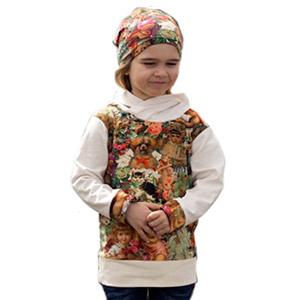 Zierstoff Patterns Baby David Hoodie Sewing Pattern