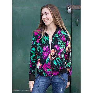 Greenstyle Patterns Midway Bomber Jacket Sewing Pattern