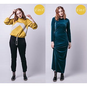 Named Clothing Gemma Sweater & Maxi Dress Sewing Pattern