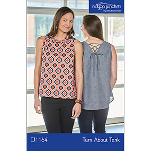 Indygo Junction Turn About Tank Sewing Pattern