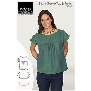 Indygo Junction Slight Sleeve & Tunic Top Sewing Pattern