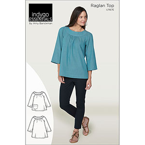 Indygo Junction Raglan Top Sewing Pattern