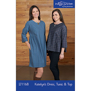 Indygo Junction Katelyn\'s Dress, Tunic, & Top Sewing Pattern