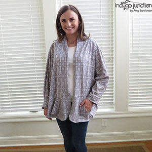 Indygo Junction Warm & Cozy Wrap Sewing Pattern
