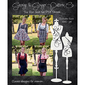 George & Ginger Riot Skirt Sewing Pattern