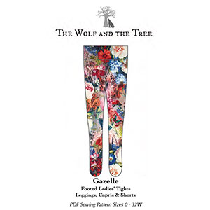 The Wolf & The Tree Gazelle Footed Tights and Leggings Sewing Pattern