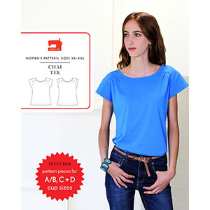 Liesl + Co. Chai Tee Sewing Pattern