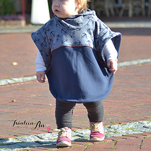 Brilliant Patterns Baby Luna Poncho Sewing Pattern