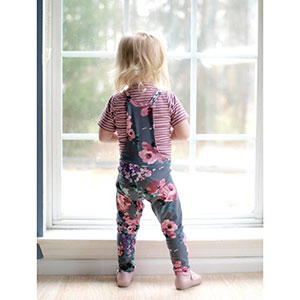 The Wolf & The Tree Abby\'s Overalls Sewing Pattern