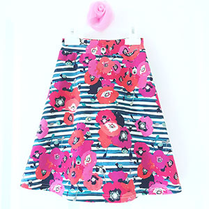 Valentine and Stitch Daisy Skirt for Tweens Sewing Pattern