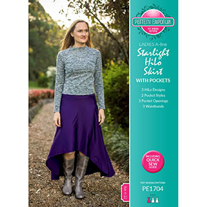 Pattern Emporium Starlight HiLo Skirt Sewing Pattern