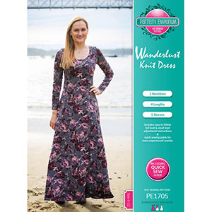 Pattern Emporium Wanderlust Dress Sewing Pattern
