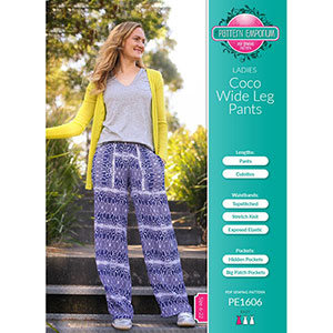 Pattern Emporium Coco Wideleg Pants Sewing Pattern