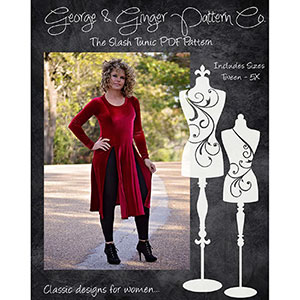 George and Ginger Slash Tunic Sewing Pattern