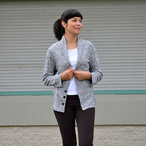 DG Patterns Julia Cardigan Sewing Pattern