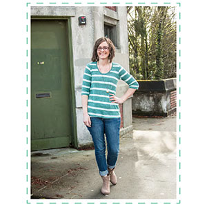 Straight Stitch Designs Montlake Sewing Pattern