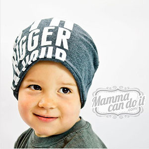 Mamma Can Do It Slouchy Beanie Sewing Pattern