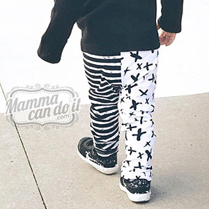 Mamma Can Do It Baby Boy Leggings Sewing Pattern