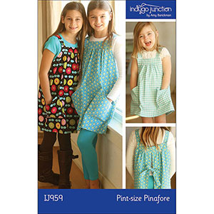 Indygo Junction Children\'s Pint Size Pinafore Sewing Pattern