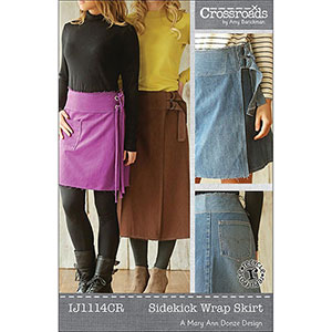 Indygo Junction Sidekick Wrap Skirt Sewing Pattern