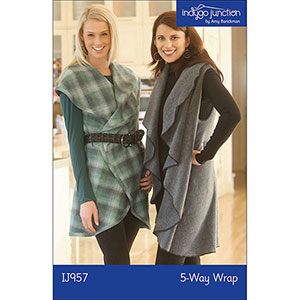 Indygo Junction 5 Way Wrap Sewing Pattern
