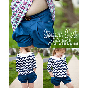 Winter Wear Designs Stargazer Shorts Sewing Pattern
