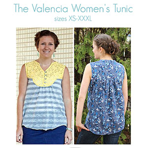 Mouse House Creations Valencia Tunic Sewing Pattern