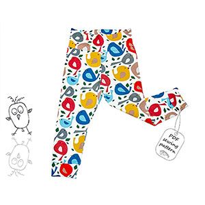 Made By Me Baby Leggings Sewing Pattern