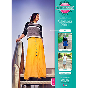 Pattern Emporium Chelsea Button Up Skirt Sewing Pattern