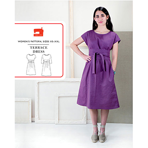 Liesl and Co. Terrace Dress Sewing Pattern