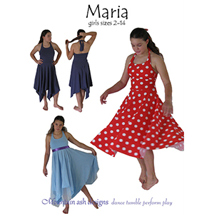 Mountain Ash Designs Maria Sewing Pattern