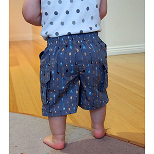 Life Sew Savory Cargo Shorts Sewing Pattern