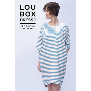 Sew DIY Lou Box Dress Version 1 Sewing Pattern