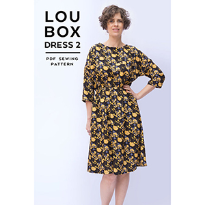 Sew DIY Lou Box Dress Version 2 Sewing Pattern