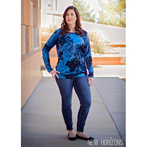 New Horizons Designs Valencia Top Sewing Pattern