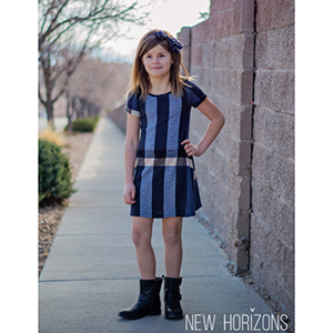 New Horizons Designs Tawsha Dress for Girls Sewing Pattern