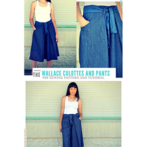DG Patterns Wallace Culottes Sewing Pattern