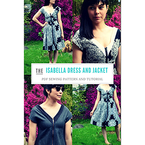 DG Patterns Isabella Dress and Jacket Sewing Pattern