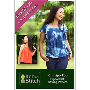 Itch to Stitch Chirripo Top Sewing Pattern