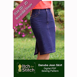 Itch to Stitch Danube Skirt Sewing Pattern