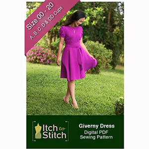 Itch to Stitch Giverny Dress Sewing Pattern