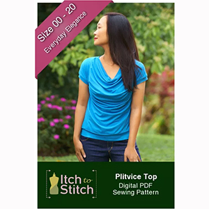Itch to Stitch Plitvice Top Sewing Pattern