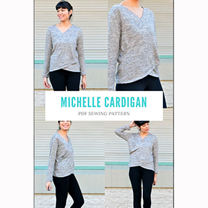 DG Patterns Michelle Cardigan Sewing Pattern