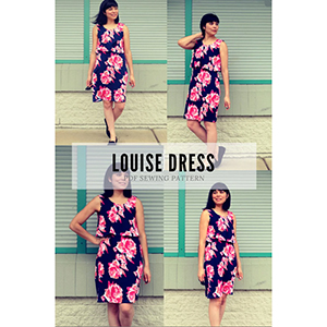 DG Patterns Louise Dress Sewing Pattern