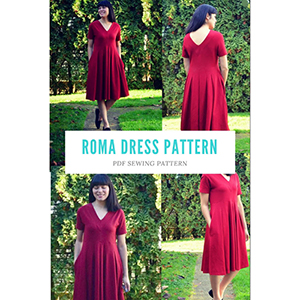 DG Patterns Roma Dress Sewing Pattern