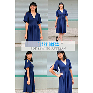 DG Patterns Clare Dress Sewing Pattern