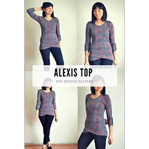 DG Patterns Alexis Top Sewing Pattern