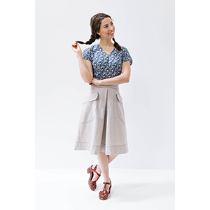 Brijee Patterns Casey Skirt Sewing Pattern