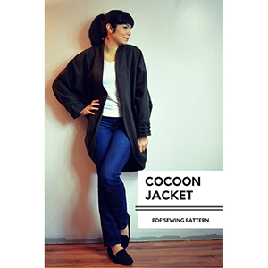 DG Patterns Cocoon Jacket Sewing Pattern